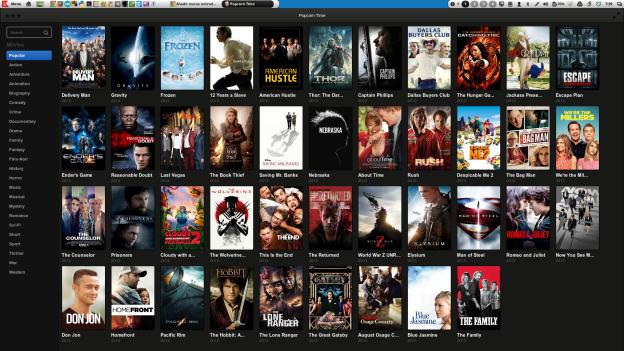 Linux tutorial terminal online: popcorn time 0. 3. 6 beta is.